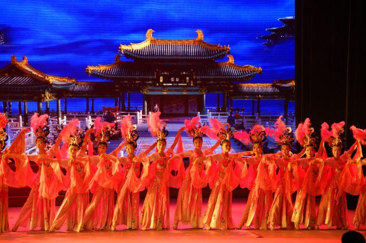 Tang Dynasty Cultural Show, Xian, China. October 2011