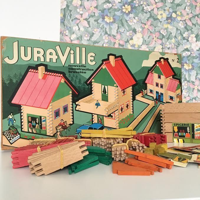 Orangevertevintage — Jeu de Construction Juraville JeuJura Vintage