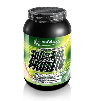 100% Pea Protein de Ironmaxx es un suplemento nutricional a base de la proteína de guisante, la cual es de origen vegetal ideal para las personas que siguen una dieta y no comen productos de origen animal.