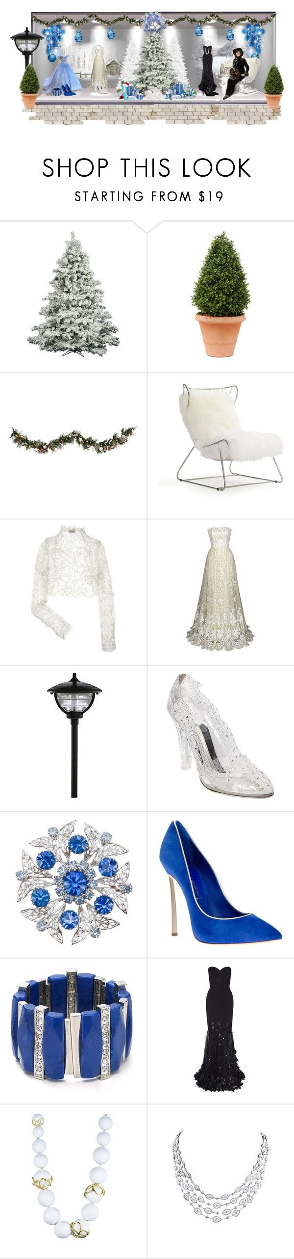 """Vintage Christmas"" by ewelina198590 ❤ liked on Polyvore featuring Improvements, Mitchell Gold + Bob Williams, Temperley London, Dolce&Gabbana, Casadei, Aqua, Rachel Gilbert, Alexis Bittar, Yves Saint Laurent and vintage"