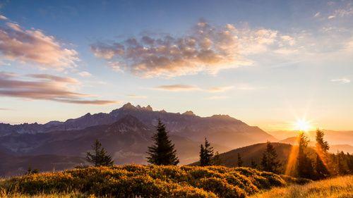 Landschaftsbilder Berge Auf Leinwand Und Als Kunstdruck