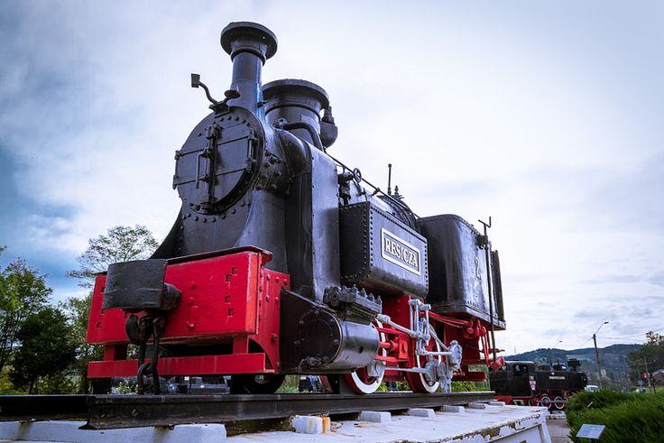 The first steam locomotive which was built at Resita and it's called Resicza
