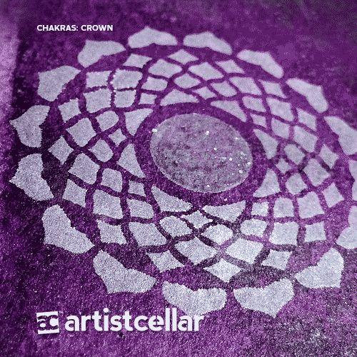 Chakras Series Seven-Stencil Set (6x6)
