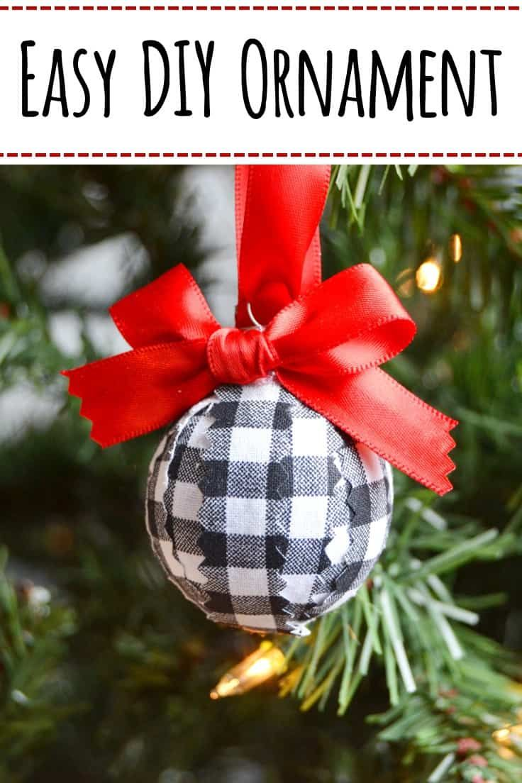 Easy Diy Christmas Ornament To Make In Minutes Easy Christmas Diy Diy Christmas Ornaments Diy Christmas Ornaments Easy