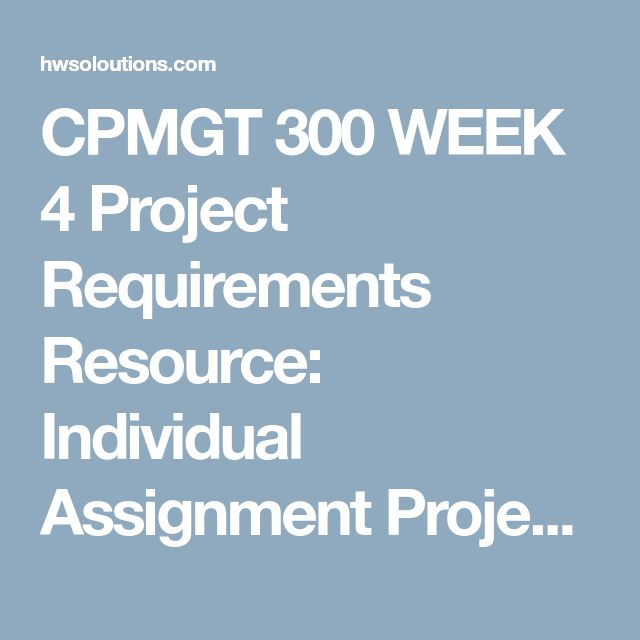 17 best CPMGT 300 images on Pinterest 1, Paper and Apa guidelines - project closeout