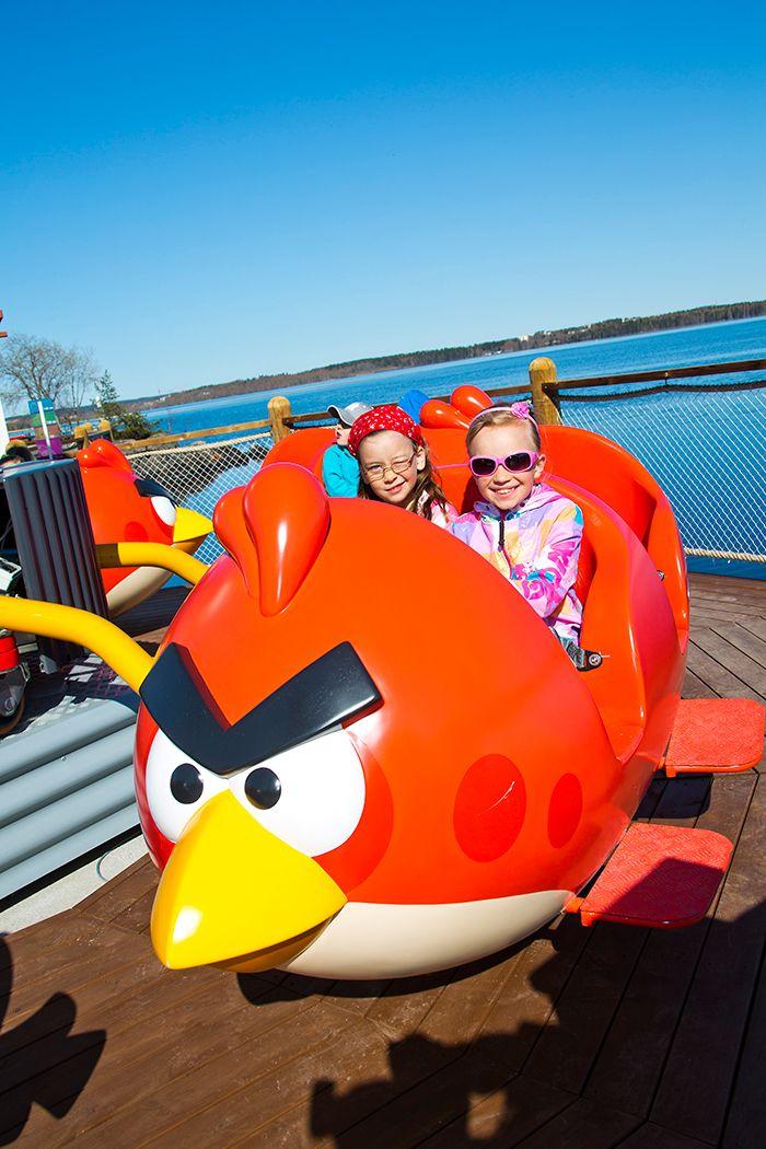 Angry Birds Ride @ Särkänniemi Adventure Park, Tampere Finland, #sarkanniemi