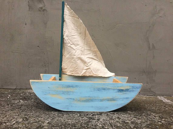 Boat with Sail Photography Props Newborn Baby Toddler Child
