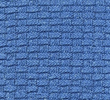 How To Weave Knitting Stitches Together : BASKETWEAVE KNITTING STITCH Free Knitting Projects