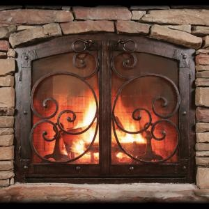 137 best fireplace accessories images on pinterest fireplace rh pinterest com fireplace insert screen replacement gas fireplace insert screen