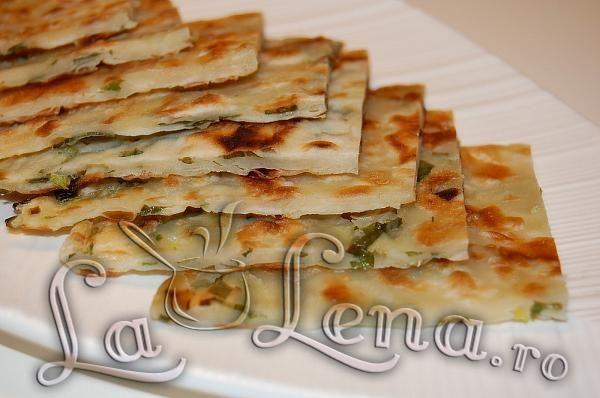 Turte cu ceapa verde (Scallion Pancakes) - Pas 16