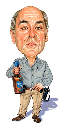 John Dunsworth as Jim Lahey ...artwork by www.ExaggerArt.com