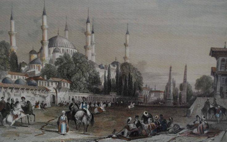 At Meydanı (Horse Square), Istanbul, 1830s