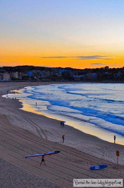 Bondi Beach at Sunrise