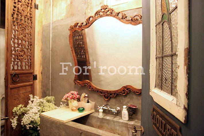 Bathroom interior studio by For'room. South Korea.