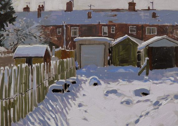 Haidee-Jo Summers, Galley hill allotments in the snow