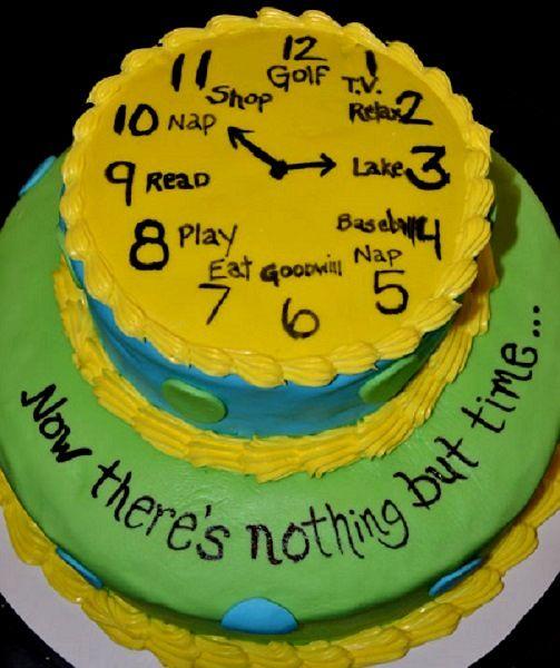 Retirement Cake <3