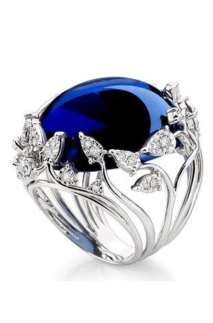 Rosamaria G Frangini | My DeepBlue Jewellery |Sapphire ring