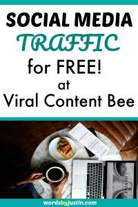 Viral Content Bee allows you to get free social media traffic simply by sharing the content of others!  #blogger #blogtips #blogadvice #bloggingtips #bloggers