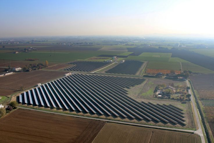 A 4 MWp solar park in Italy.