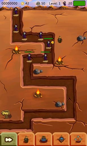 Cute little dinosaur checkpoints, you have to do is place the various weapons in different locations, the organization dinosaurs break the enemy castle, good work.Super fun tower defense game, quickly download try it.  http://Mobogenie.com