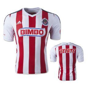 adidas  Club Deportivo Guadalajara Soccer Jersey (Home 2015/16)