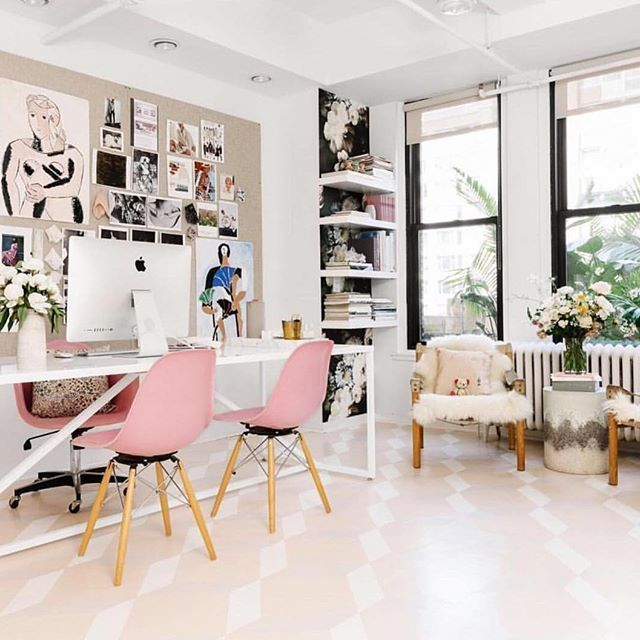 21 Feminine Home Office Designs Decorating Ideas: Best 25+ Feminine Office Decor Ideas On Pinterest