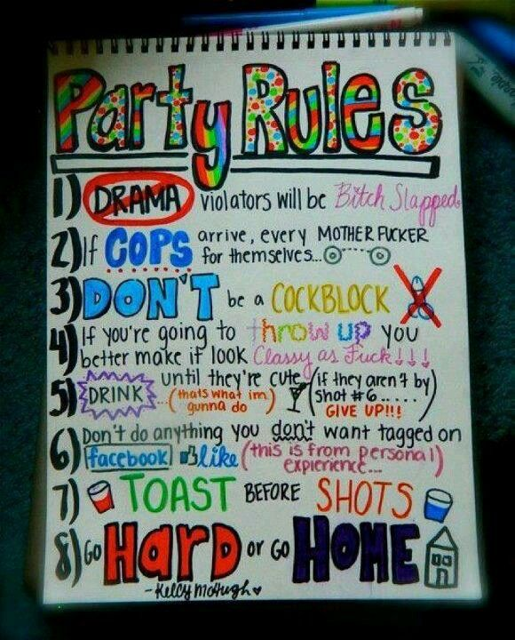 25 Unique House Party Rules Ideas On Pinterest Party