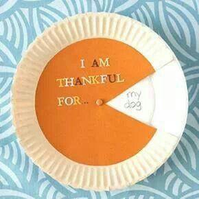 Crafty spinning Thanksgiving craft