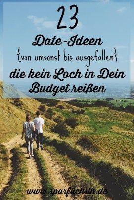 Für diese 23 Date-Ideen ist immer noch Platz im Budget! :)