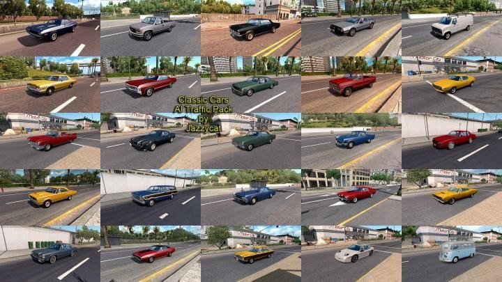 Sport Cars Traffic Pack v3.7 by TrafficManiac (1.35.x) for