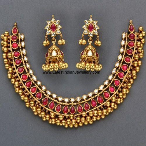 kundan jewelry - Google Search