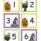 """{FREEBIE!!} This is a set of October calendar cards numbers 1-31 with a Holiday Halloween card option! Also included is 2012 and 2013 year cards! These cards are set up in an """"ABC Pattern"""" rotation!"""