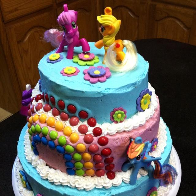 My Little Pony Birthday Cakes Pinterest