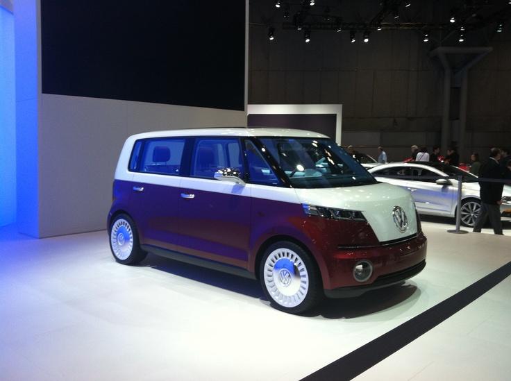 VW van prototype NY Auto Show 2011