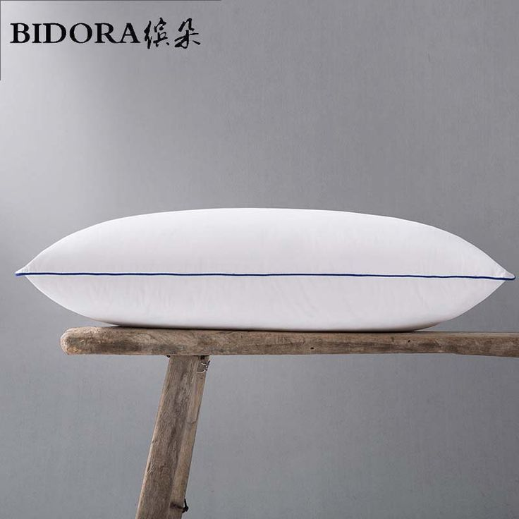 BIDORA feather pillow core white 100% white goose feather pillow Bed products five-star hotel Pillow manufacturers custom