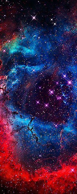 ▶◀の☀ The Rosette Nebula • photo: Brian Lula / NASA