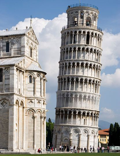 PIZA, ITALY...The Leaning Tower of Piza.  When I was there, visitors were allowed to walk to the top...so I did!