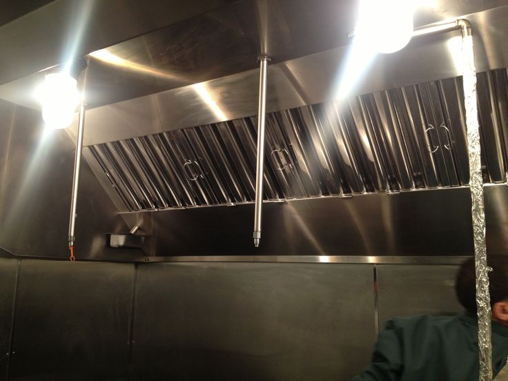 how to clean commercial kitchen hood