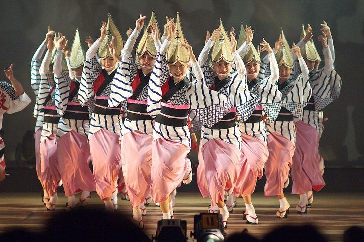 Awa dance festival.(徳島・阿波踊り)