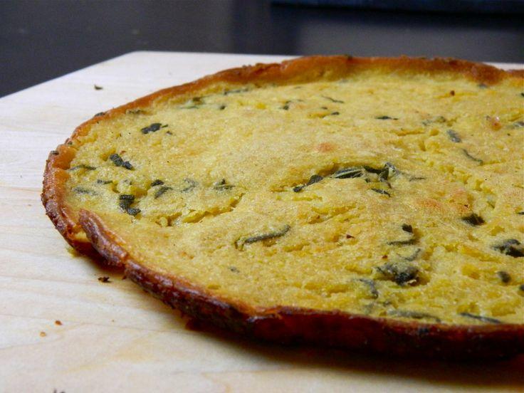 Ligurian Chickpea Pancake/Flatbread Recipe — Dishmaps