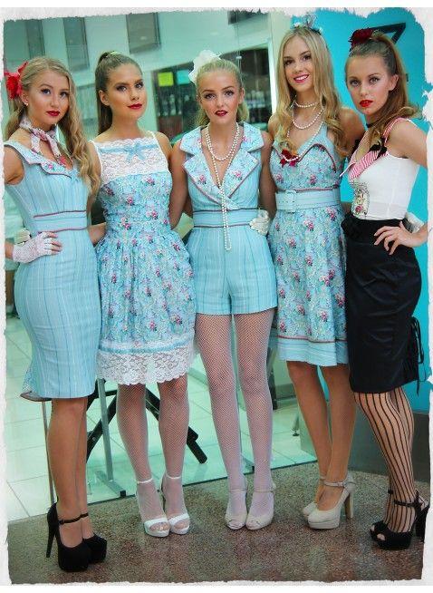 La Belle Paris Collar Wiggle Dress