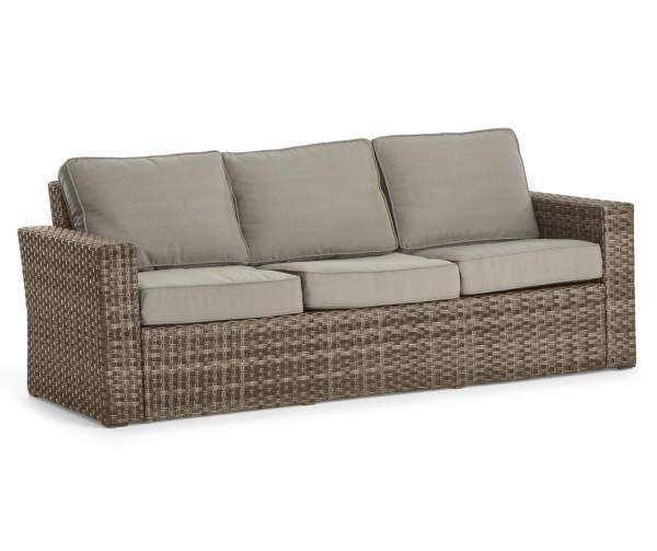 Broyhill Eagle Brooke Seating Set Big Lots In 2020 Patio Sofa
