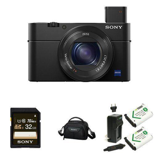 Sony Cyber-shot DSC-RX100 IV 20.2 MP Digital Still Camera Deluxe Bundle