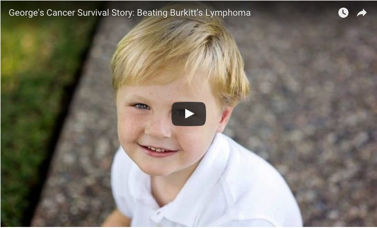 Learn more about little George's  story and how he fought Burkitt's Lymphoma.