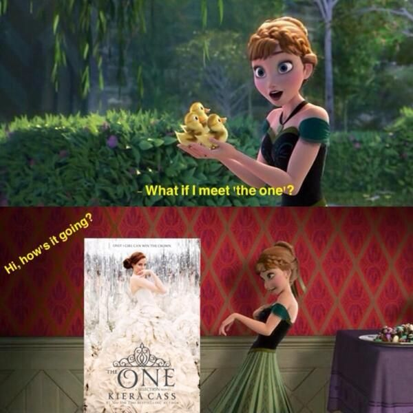 #Frozen Meets #TheOne by #KieraCass