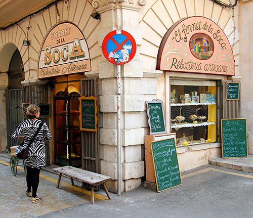 Fornet la Soca - Palma de Mallorca. Nice little bakery
