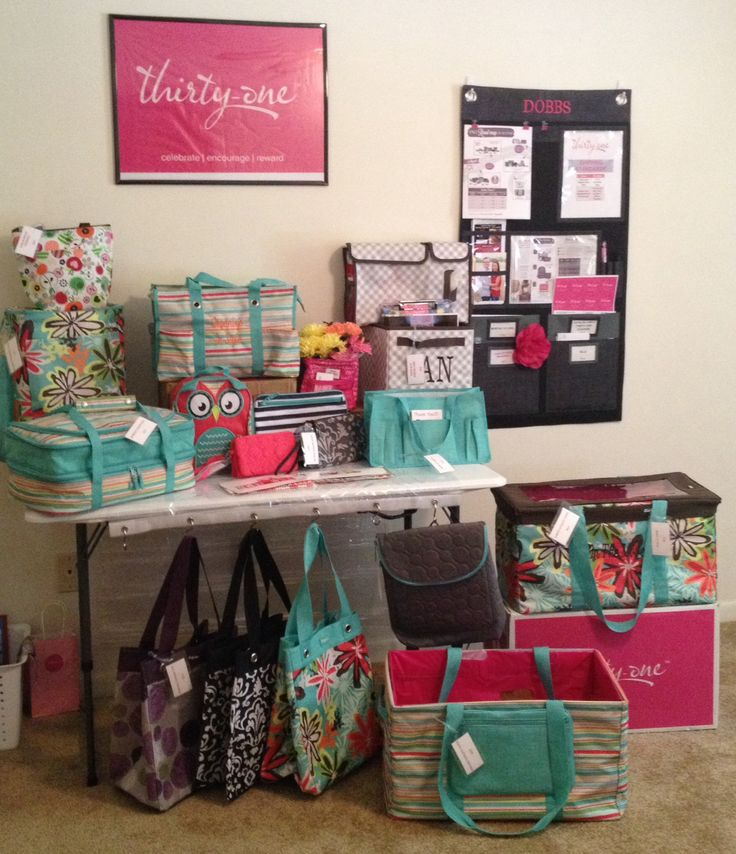 Display Ideas For Handbags: Best 25+ Thirty One Display Ideas On Pinterest