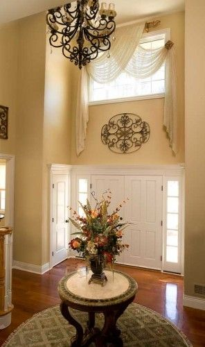 Traditional Foyer Jobs : Best arched window coverings ideas on pinterest