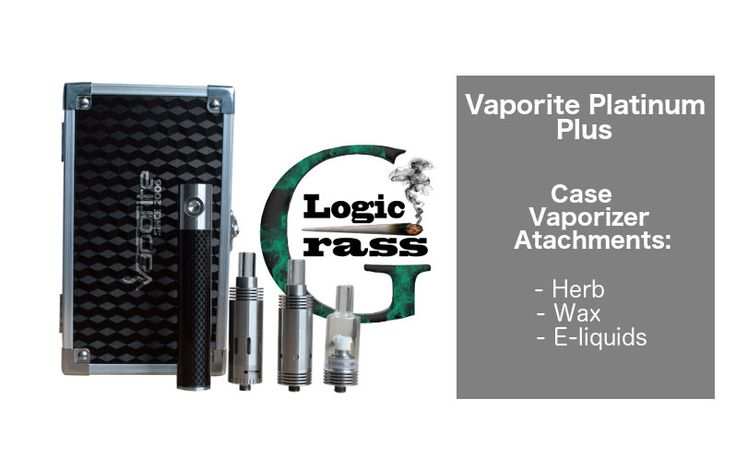 Vaporite Platinum Plus – The Iphone of Vaporizers - Case Vaporizer and attachments
