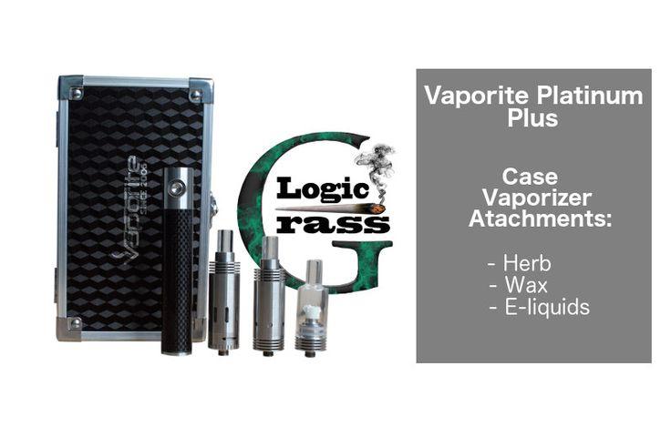 Vaporite Platinum Plus – The Iphone of Vaporizers - Case Vaporizer and attachments